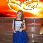 Учащаяся ДШИ Александра Еремина представляла Северный управленческий округ на Конкурсе молодых исполнителей УФО «Песня не знает границ»