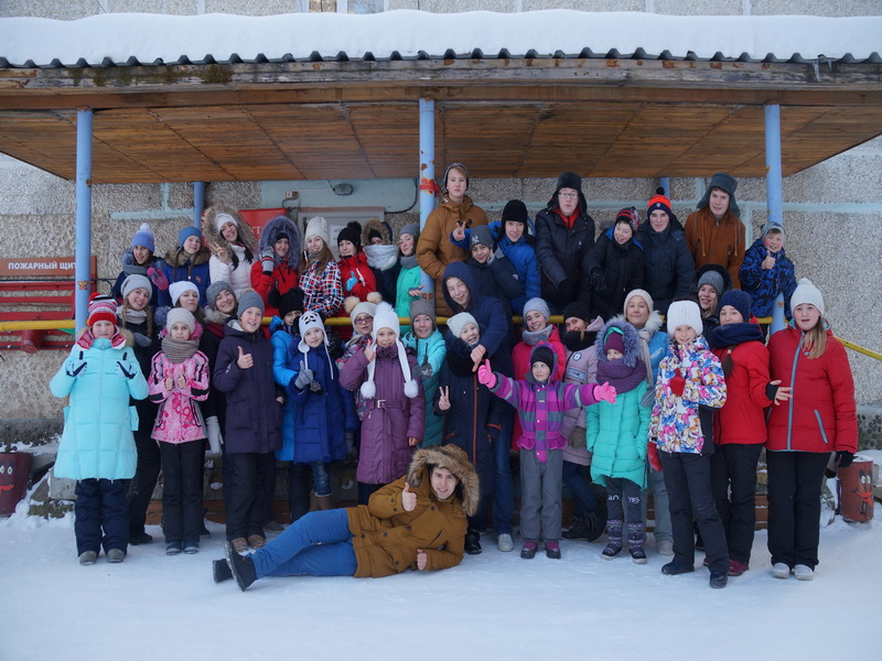 Зимний лагерь ДШИ - 2017