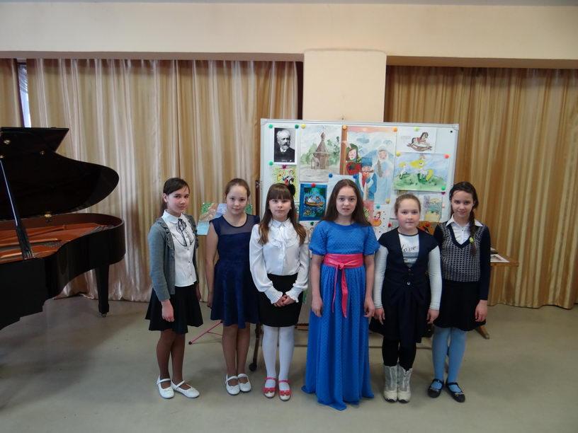 Концерт для учащихся первых классов школы № 20