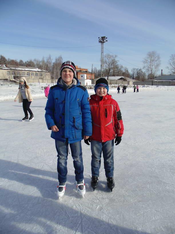Первый день весны на льду