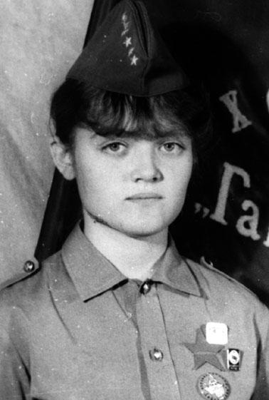 1985-1986г.  Ирина АНКУДИНОВА