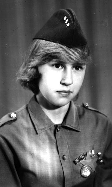 1986-1987г.  Ольга ШУСТОВА