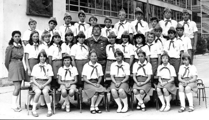 1984 г. - первый большой гайдаровский десант в «Артек».