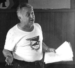 1989 г. встреча с Леонидом ПЕЧНИКОВЫМ в агитрейсе.