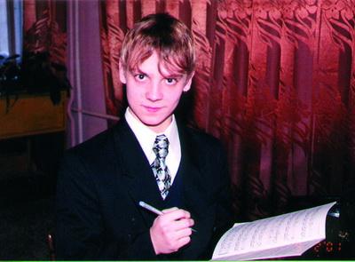 МЕДВЕДЕВ Паша Пьеса для фортепиано «На пороге века»