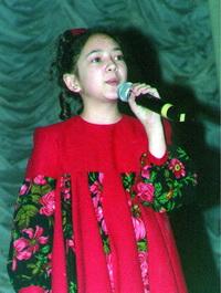 Наташа СУЛЕЙМАНОВА, дипломантка Российского конкурса «Золотой петушок»