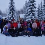 Учащиеся ДШИ совершили традиционное путешествие в зимний лагерь