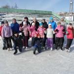 Учащиеся школы искусств провели первый день весны на льду