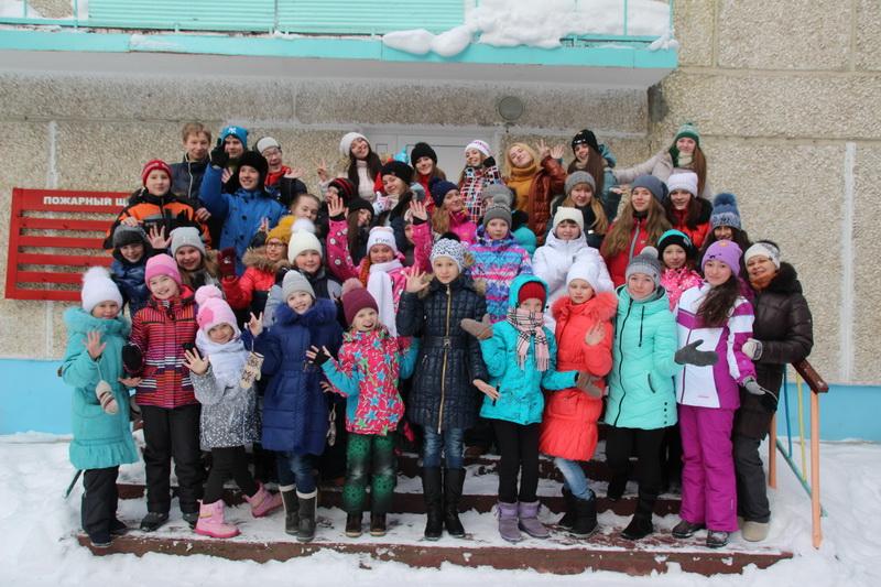 Поездка учащихся ДШИ в зимний лагерь