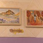 Юные художники ДШИ поделились с серовчанами своими красками осени
