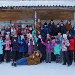 """Традиционная поездка учащихся ДШИ в зимний лагерь """"Чайка"""""""