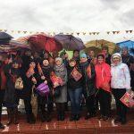 Коллектив Детской школы искусств принял участие в праздничном шествии к 9 мая